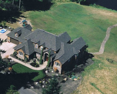 Aerial View Beaver Lake Estates