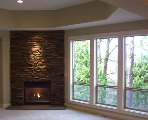 Beaver Lake Estates #2 – Basement Fireplace