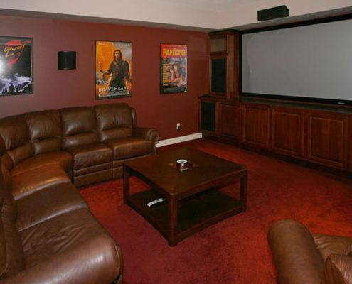 Beaver Lake Estates – Theater Room